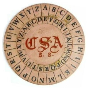 Civil War Cipher Disk